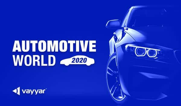Meet Vayyar at AUTOMOTIVE WORLD 2020 in Japan