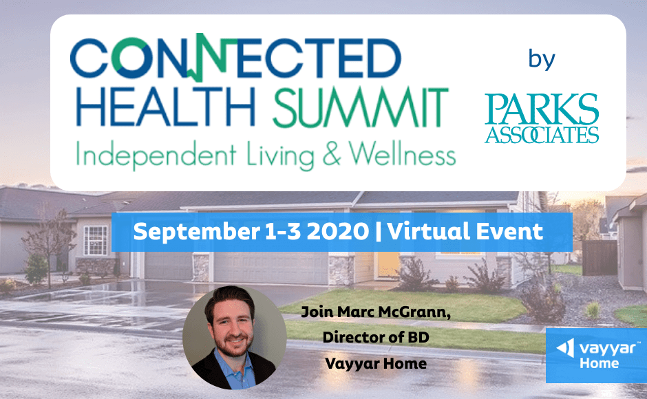 Connected Health Summit 2020 virtual event