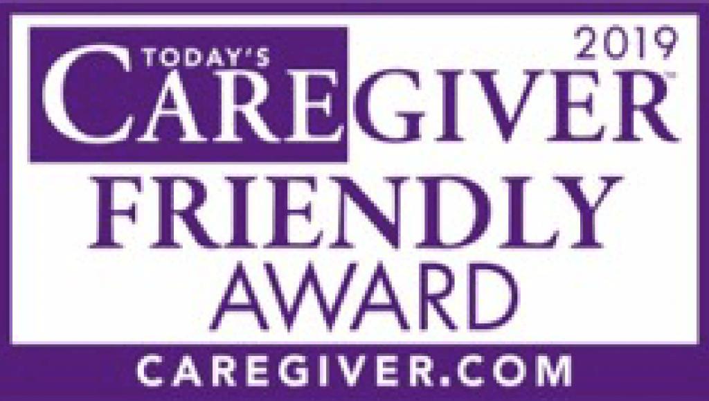 2019 Today's Caregiver friendly award, caregiver.com