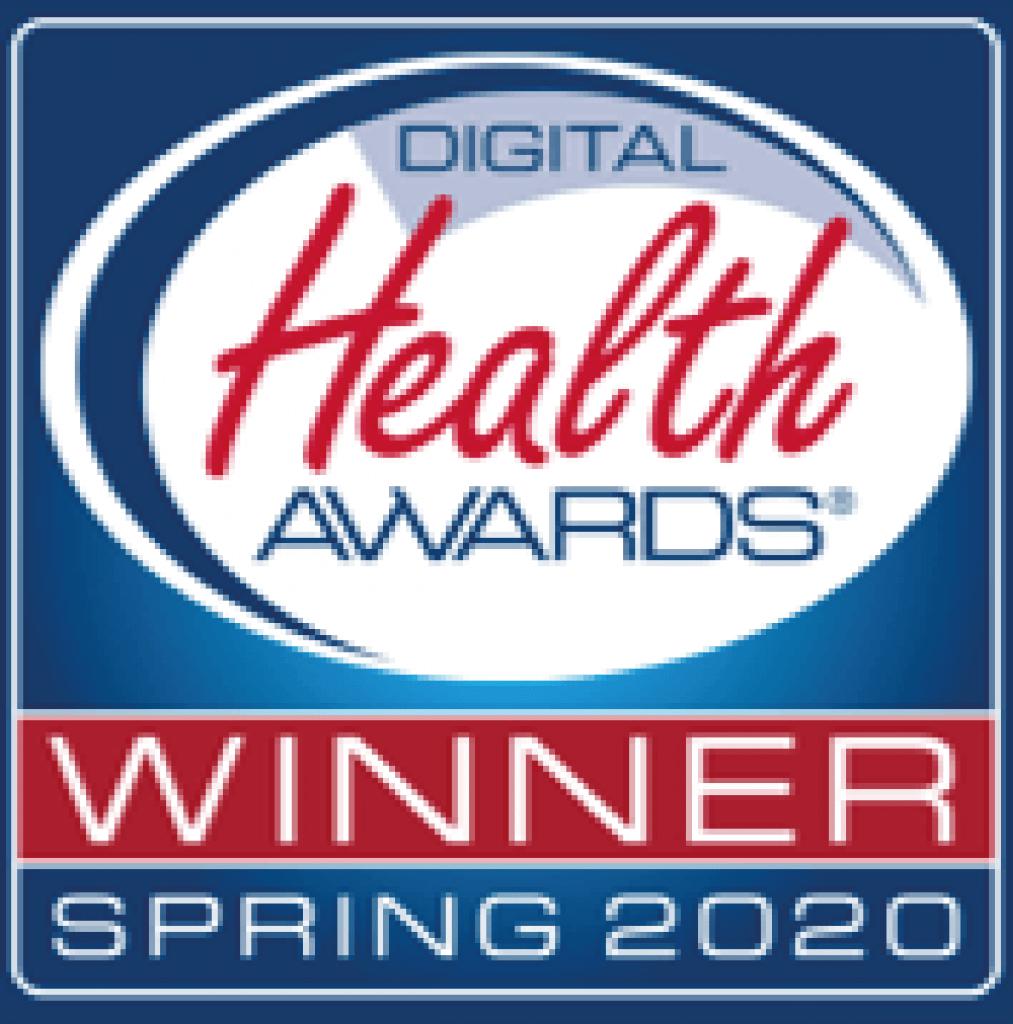Digital Health Awards Winner Spring 2020