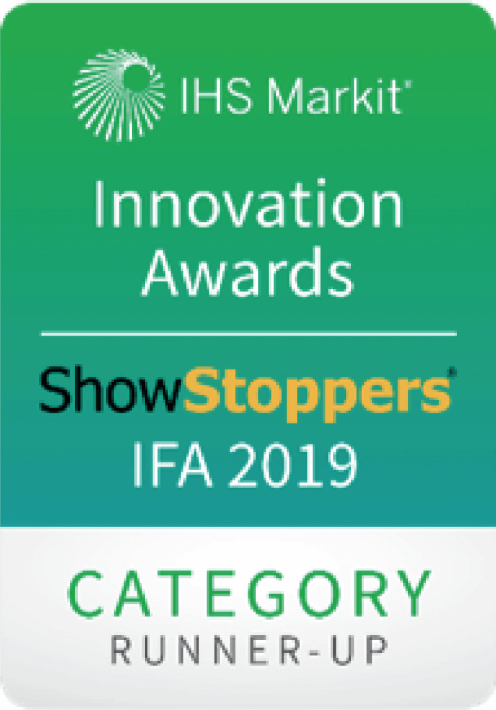 IHS Markit Innovation Awards | ShowStoppers IFA 2019 | Category runner-up